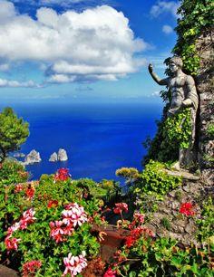 Capri island #Italy