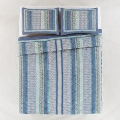 Indra Blue Bedding Collection