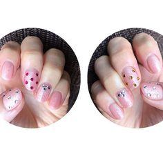 今の爪💅 長い爪が好きだけどショートネイルは生活しやすい…😌✨ * #nail #nailart #nailstagram #selfnail #shortnails #nails #stonenails #stonenail #ネイル #ネイルアート #セルフネイル #ネイルデザイン #セルフネイル部 #ショートネイル #ストーンネイル