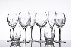 Tableware: The beautiful wine series Alba from Magnor Glassverk. Wedding idea?