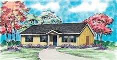 House Plan chp-23167 at COOLhouseplans.com