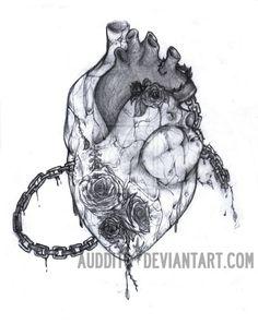 heart of stone tattoo - Google Search