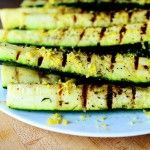 Grilled Zucchini with Lemon Salt    The pioneerwoman.com