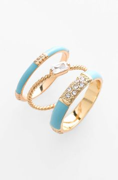 stackable rings (set of 3) - ariella collection