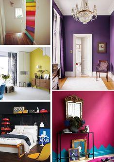 Atrévete a pintar tus paredes   Decorar tu casa es facilisimo.com