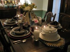 ~Tablescapes By Diane~: ~~~My Nautical Tablescapes~~~ #tablescapes #tablesettings
