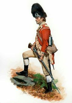 Don Troiani Historical Artist British Grenadier of the Regiment of Foot in American Indian Wars, American Civil War, Early American, American History, British Army Uniform, British Uniforms, British Soldier, Independence War, American Independence