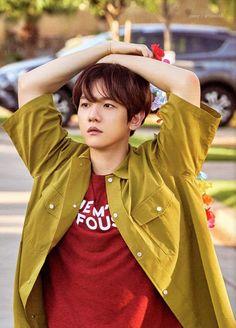 (HD scan) present;the moment photobook Baekhyun, Exo Kai, Exo Lockscreen, Xiuchen, Exo Korean, Kpop Exo, Exo Members, Korean Celebrities, Celebs