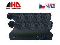 Securia Pro Kamerový set AHD8CHV1 - černá