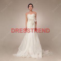 Wedding Dress 2013  Strapless Wedding Dress / Cheap by DressTrend, $299.00 LOVE IT!!  so ethereal/dreamy!