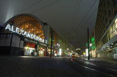 Alexanderplatz   Directions    Alexanderplatz, Berlin, Germany  Alexanderplatz is a large public square and transport hub in the central Mitte district of Berlin, near the Fernsehturm.