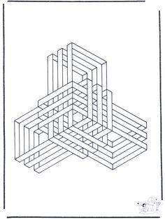 ausmalbilder geometrischen 02