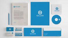 Eco Clean – Visual Identity Design by Walter Mattos