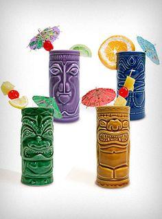 ...MUST include Tiki Head cups.  Paper umbrellas get bonus points.