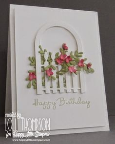 Stamping with Loll: Through the Garden Gate