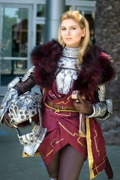 Cullen Rutherford cosplay from Dragon Age: Inquisition