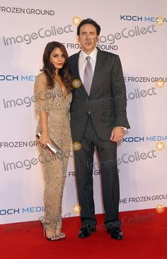 """Nicholas Cage and Vanessa Hudgens at UK premiere """"The Frozen Ground"""""""