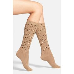 Hue Sequin Rib Knit Socks ($13) ❤ liked on Polyvore featuring intimates, hosiery, socks, cashew, slouchy socks, hue socks, slouch socks, sparkle socks and hue hosiery