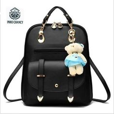 Cheap women leather backpack 965d7080a5be0