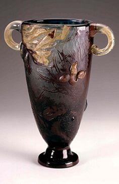 Vase, Emile Galle, 1896, Musée de l'Ecole de Nancy.