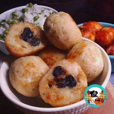 Albóndigas de pollo rellenas de ciruelas ~ ¡Huele Bien!