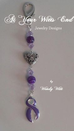 Hey, I found this really awesome Etsy listing at https://www.etsy.com/listing/123111188/purple-key-chain-accessories-purple-keys