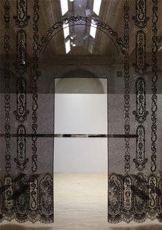 Lacing Space (detail), Piper Shepard, 2011. Photo: Birmingham Museums & Art Gallery