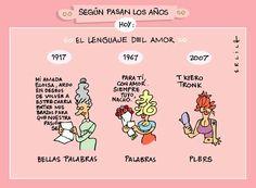 """La """"evolución"""" del #Lenguaje"""