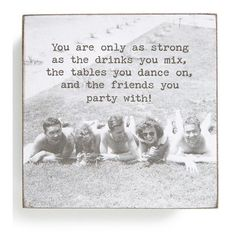 Another great find on 'Only As Strong' Box Sign by Primitives by Kathy Great Quotes, Quotes To Live By, Me Quotes, Funny Quotes, Inspirational Quotes, Sign Quotes, Meaningful Quotes, Box Signs, Thats The Way