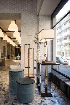 Console Table, Table Lamp, Project Table, Interior Architecture, Interior Design, Lamp Ideas, Chennai, Furniture Decor, Floor Lamp