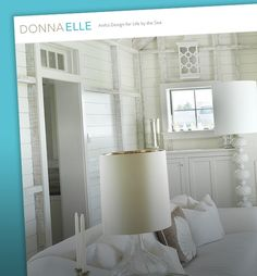 WhatArmy Website Design Client: Donna Elle  Interior Design