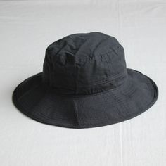 ORGANIC COTTON HAT #black
