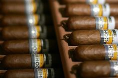 Cuban Cohiba cigars ...