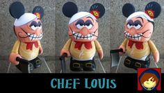 Custom Vinylmation of Chef Louis from The Little Mermaid by Are-Jay.