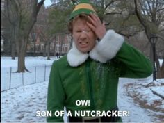 Funny picture from one of the best Christmas movies starring Will Ferrell, Elf. Funny Shit, The Funny, Funny Stuff, Funny Things, Freaking Hilarious, Random Stuff, Will Ferell, Best Christmas Movies, Christmas Time