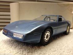 1985 Chevrolet  Corvette Medium Blue  DEALERSHIP PROMO CAR  1:24 Scale ERTL
