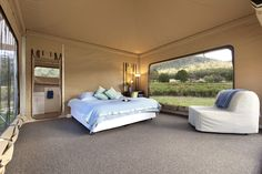 Cave Hill Creek offers fully catered country Victorian retreats and group getaways. We provide accommodation, fully stocked facilities & outdoor adventure activities. Luxury Tents, Rural Retreats, Water Storage, Outdoor Furniture, Outdoor Decor, Glamping, Cave, Victorian, Bed