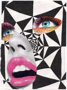 July   2011   Hi-Fructose Magazine   Collage by Bryan Schnelle.