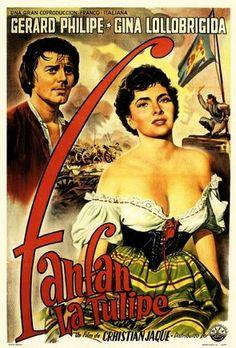 """1951 - Place 10 - """"Fanfan la Tulipe"""" Christian Jacque"""