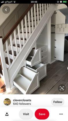 Stair Storage, Stairs, Home Decor, Ladder, Stairway, Decoration Home, Staircase Storage, Room Decor, Staircases