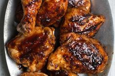 Spicy Sweet-and-Sour Grilled Chicken / Lara Ferroni http://www.epicurious.com/expert-advice/how-to-make-the-best-barbecue-chicken-recipe-tips-article