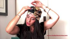 TURBAN DIY TUTORIAL - The Fashion Twice - YouTube