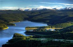 Oasa lake in the Sureanu mountains .at 1200 m . Fairytales :)
