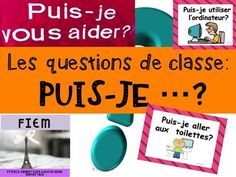 , classroom prompts, Core and French Immersion French Classroom, French Immersion, Questions, Prompts, Sentences, Communication, Core, Education, Gym