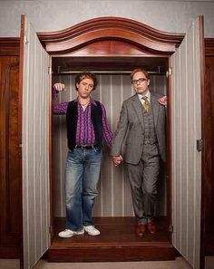 Enter 'Inside the new dark comedy series from Steve Pemberton & Reece Shearsmith. Comedy Tv Shows, Comedy Series, Tv Series, Inside No 9, Steve Pemberton, Reece Shearsmith, League Of Gentlemen, British Comedy, British Actors