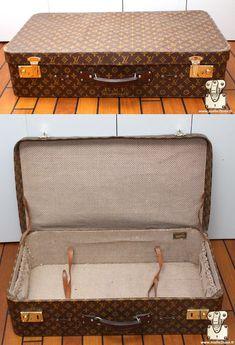 3ddd88990342 Valise Alzer Bisten Cotteville super President stratos Louis Vuitton - Malle  Louis Vuitton