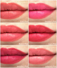 L'Oreal Collection Exclusive Pinks Lipstick: Review and Swatches | The Happy Sloths: Beauty & Makeup Review Blog, Swatches, Beauty Product Reviews