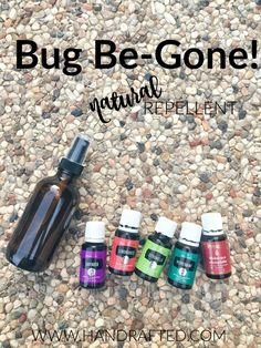 Bug Be Gone - Essential Oil Repellent Spray - Handrafted
