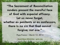Let´s trust God´s mercy! Read more at: www.news.va/en/news/pope-francis-to-confessors-be-authentically-mercif