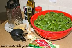 Delicious homemade pesto recipe